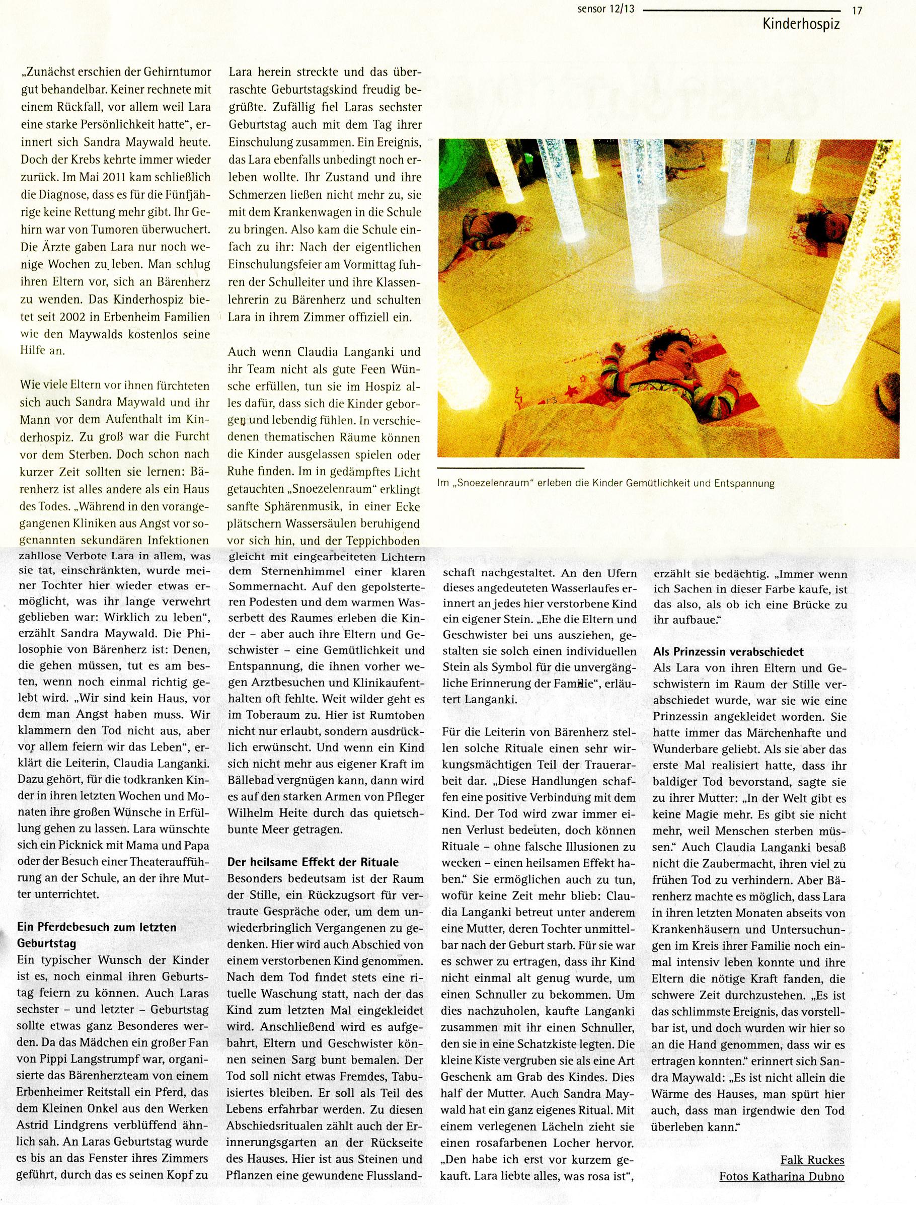 Sensor Wiesbaden Dez 2013 Januar 2014 Seite 2