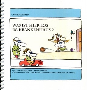Claus Maywald Malbuch Krankenhaus Kinder