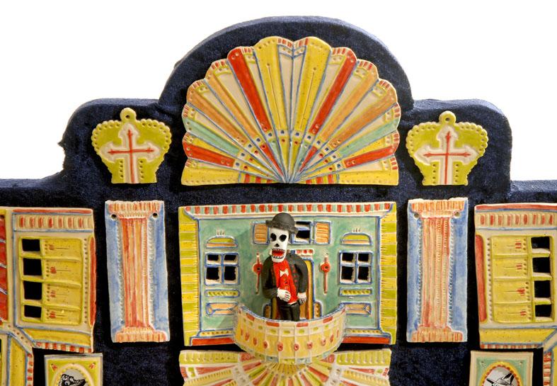 Mexikanischer Totenaltar (Ofrenda) von Claus Maywald