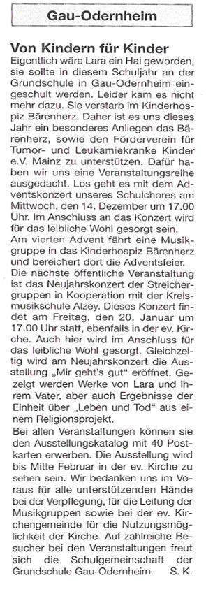 Claus Maywald Lara Maywald Ausstellung Mir geht's gut Gau-Odernheim
