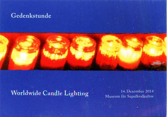 Claus Maywald Tag der verstorbenen Kinder Worldwide Candle Lighting Museum für Sepulkralkultur Kassel