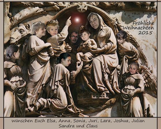 Claus Maywald Weihnachtskarte 2015