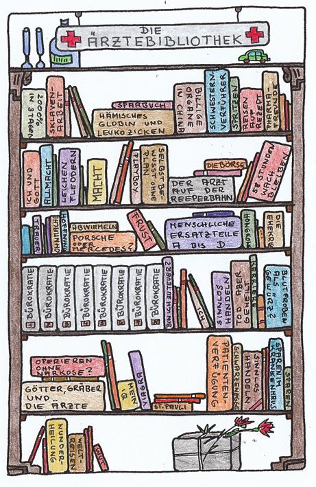 Claus Maywald Bibliotheken im Krankenhaus Ärztebibliothek