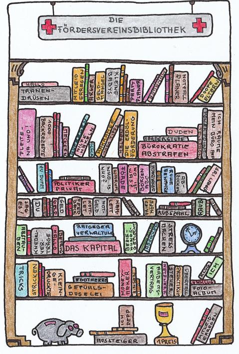 Claus Maywald Bibliotheken im Krankenhaus Fördervereinsbibliothek