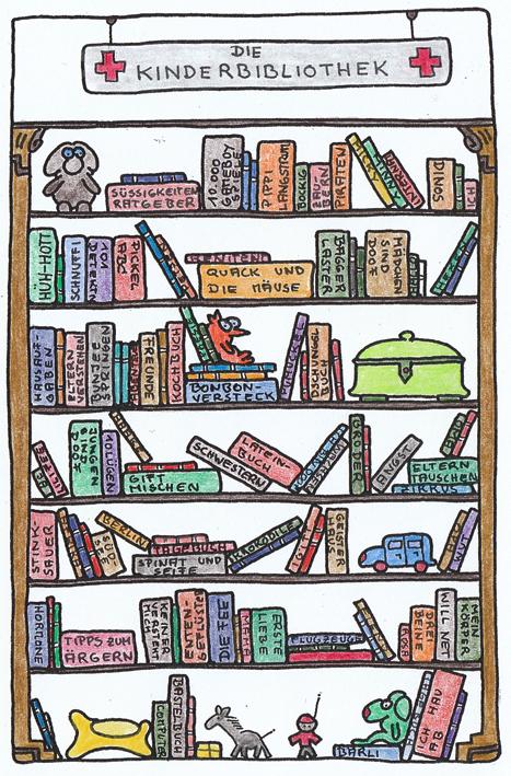 Claus Maywald Bibliotheken im Krankenhaus Kinderbibliothek
