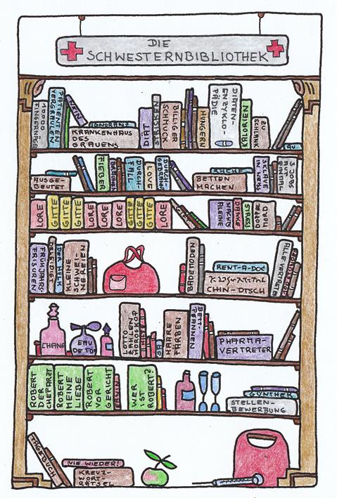 Claus Maywald Bibliotheken im Krankenhaus Schwesternbibliothek