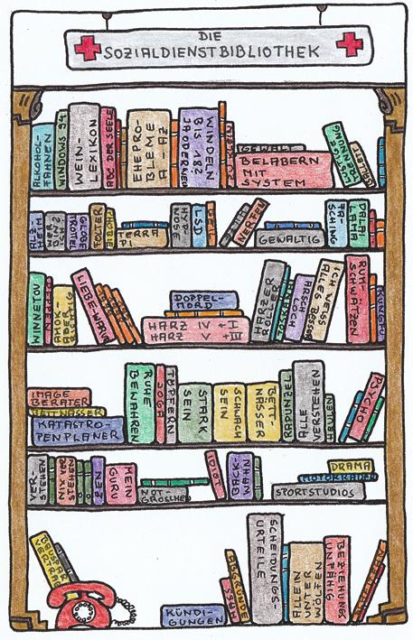 Claus Maywald Bibliotheken im Krankenhaus Sozialdienstbibliothek