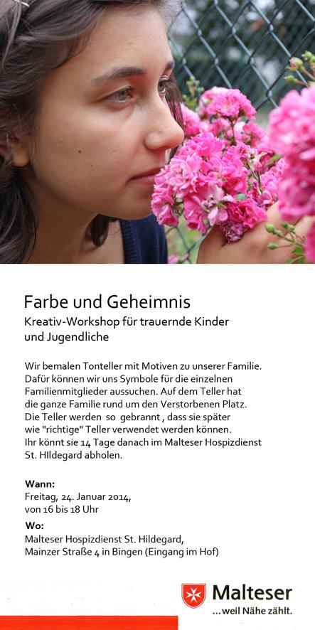Claus Maywald Malteser Hospizdienst Bingen Kinder- und Jugendtrauer