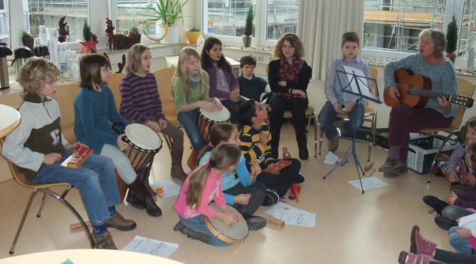 Claus Maywald Lara Maywald Kinderhospiz Bärenherz Schule Gau-Odernheim