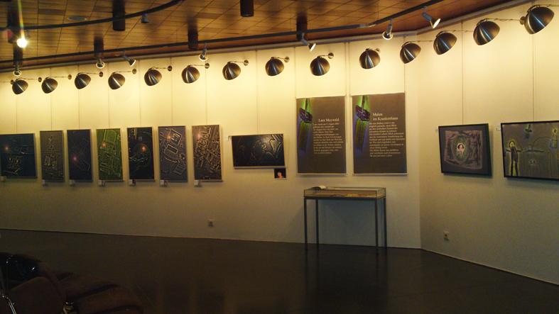 Claus Maywald Lara Maywald Ausstellung Mir geht's gut Rathausgallerie Mainz