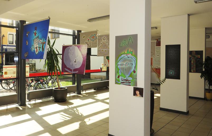 Claus Maywald Lara Maywald Ausstellung Mir geht's gut Malteser Hospizdienst Bingen