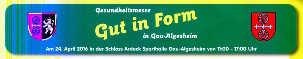 Claus Maywald Malteser Hospizdienst Bingen Gau-Algesheim Gesundheitsmesse