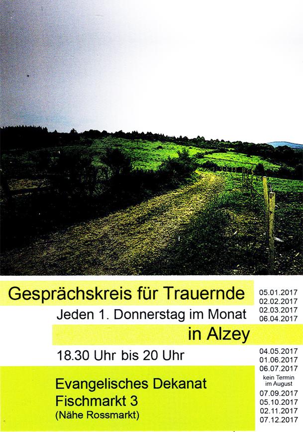 Claus Maywald Alzey Gesprächskreis für Trauernde