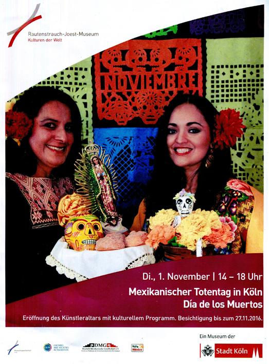 Claus Maywald Mexikanisches Totenfest Köln Rautenstrauch-Joest Museum