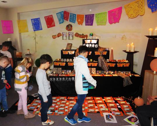 Claus Maywald Dia de los muertos Mexikanisches Totenfest Grundschule Gau Odernheim Bestattungsinstitut Sulfrian